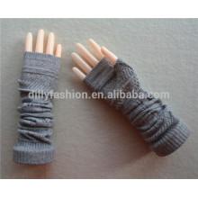Зима с длинным рукавом кашемир трикотажные перчатки женщин