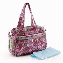 Tote Handmade Diaper Bag with Wipe Case (CA1534-0)