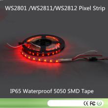 CE RoHS DC5V Ws2812 Faixa digital 2811 IC integrado - interno
