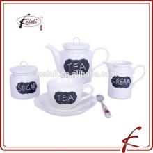Marokkanische Emaille Keramik Teekanne