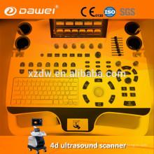digitalizador do ultra-som do varredor do preço do portátil ecografos do doppler da cor com preço livre da mão 3d & 4D USG