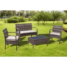 Conjunto de sofá de cadeira confortável Jardim Rattan barato