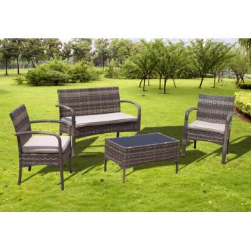 Comfortable Garden Cheap Rattan Chair Sofa Set