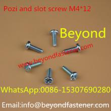 Pozi und Slot Bolts Schraube
