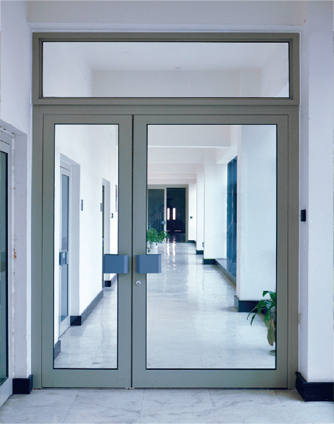 Automatic Swing Doors for Hospital Access Partitions