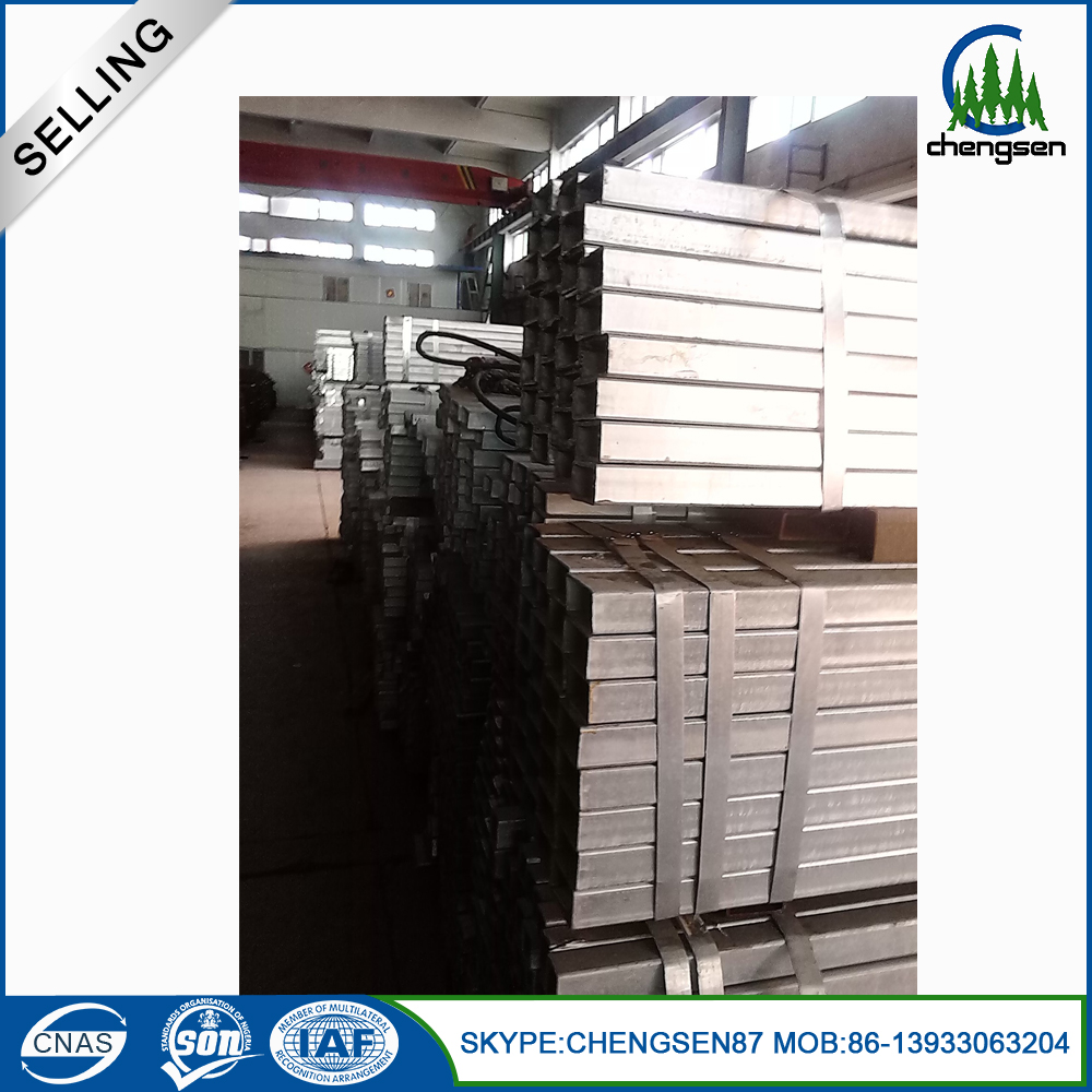 Mild Steel Seamless Black Rectangular Pipe