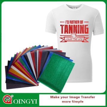 Qing yi auto-adhésif feuilles de vinyle pour les vêtements de sport