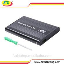2.5 IDE Caja de disco duro externo, unidad de disco duro de la carcasa