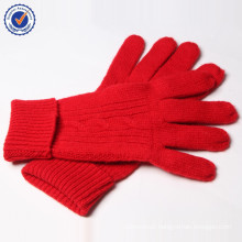 2015 New glove Design wool knitting glove YMST02