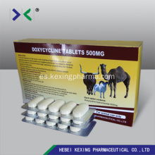 Doxycycline 10mg Tableta de Ganado