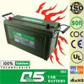 JIS-NS120L 12V120AH Batería de automóvil sin mantenimiento (equipamiento militar)