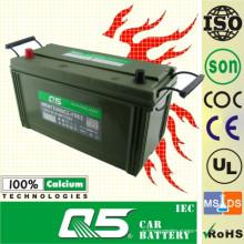 Bateria de carro livre da manutenção de JIS-NS120L 12V120AH (equipamento militar)