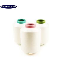 100% hersteller in china dty spun 20s schwarz polyester nylon blendgarn