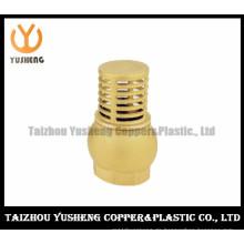 Fußventil mit Sieb / hochwertigem Messing Sieb Fuß Ventil (YS7005)
