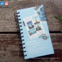 Cuaderno impreso personalizado del ejercicio del espiral 48k (Bx0204)