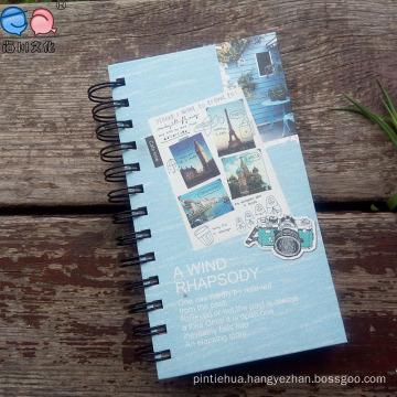 48k Custom Printed Spiral Exercise Notebook (Bx0204)