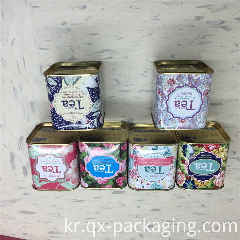 Empty Tea Tins For Sale