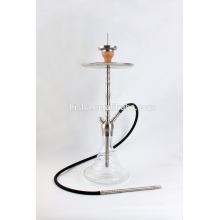 haut de gamme en acier inoxydable narguilé chicha fumer narguilé