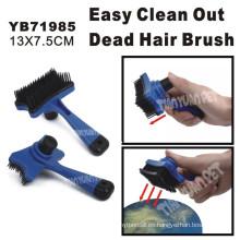 Cepillo para mascotas con eliminar la función del cabello muerto, 13X7.5cm