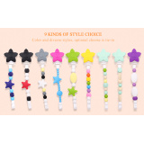 Kean wholesale Prime baby teething pacifiers chain