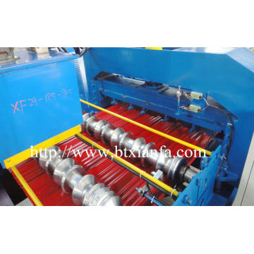 Mesin Roll Forming Genteng Panel Atap Glazed