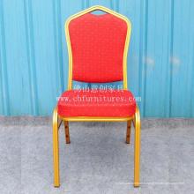 Meubles de chaise de banquet de tissu rouge (YC-ZL22-19)