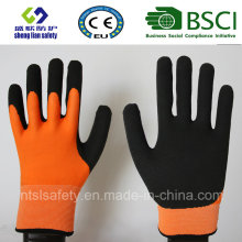 Nitrile Coating, Sandy Finish Safety Work Gloves (SL-NS117)