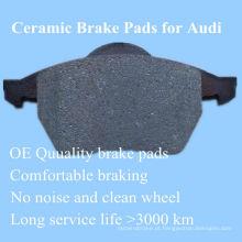 OE qualidade almofadas de freio Hi-q para Audi