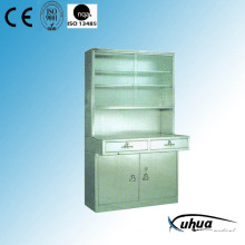 Stainless Steel Hospital Medical Instrument Cabinet (U-10)