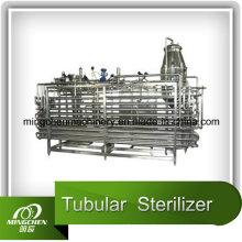Stérilisateur tubulaire pour lait