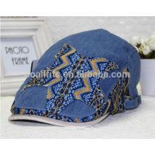2014 gorras de alta calidad de la hiedra de la tela de la mezclilla