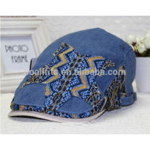 2014 high quality jean fabric ivy caps