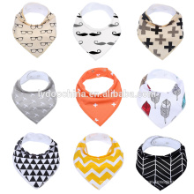 new adjustable 100% cotton softextile baby bibs