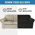 Non-Slip Straps Bottom Living Room Sofa Covers Slipcovers