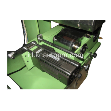 Roller ritsleting makan mesin hot stamping