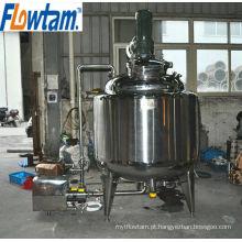 Três camadas verticais líquido e podwe blending máquina com refrigeração e aquecimento jaqueta