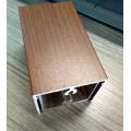 Aluminum Extrusion Profile Wood Grain / Anodizing
