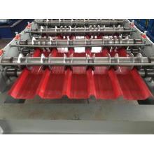 Rolo de telhado de metal IBR dá forma à máquina