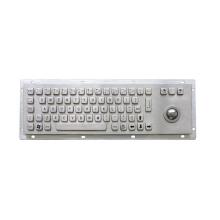 Проводная металлическая цифровая клавиатура USB с трекболом