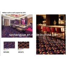 Wilton Wall to Wall PP Broad Loom Carpets for KTV