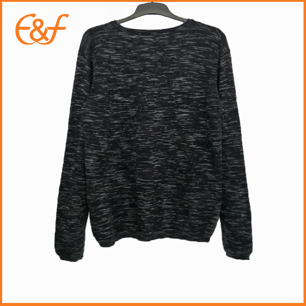 Mixed Yarn Plain Casual Trendy Jumpers