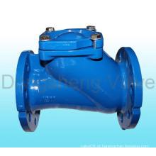Válvula de retenção de esfera de extremidade de flange
