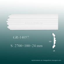 Material de Construção Clássico de Alta Qualidade - Moldagem de Teto de Canto