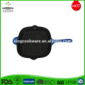 Wholesale New Square BBQ Black Cast Iron Griddle Grill Pan