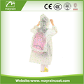 Enfants En Plastique Imperméable OEM Enfants Poncho Promotion