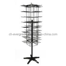 Metal Supermarkets Display Rack Wire Mesh Shelves (WP-08)