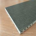 Schwarze Farbe Formica Laminat gegenüberliegende Wabenplatten