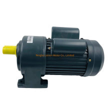 Single Phase Three Phase 220V 380V Horizontal Vertical 28mm Shaft AC Gear Motor 0.4kw 1kw 1.5kw