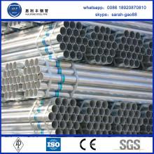 Alibaba China Supplier pre-galvanized pipe/tube for greenhouse