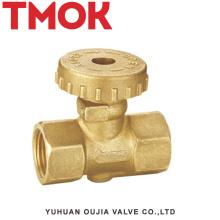 Ду15 латунный никель плакировкой газовый клапан